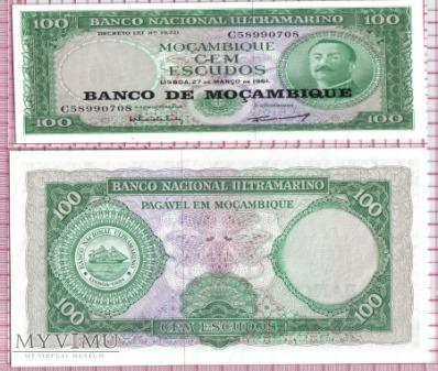 100 Escudos- Mozambik