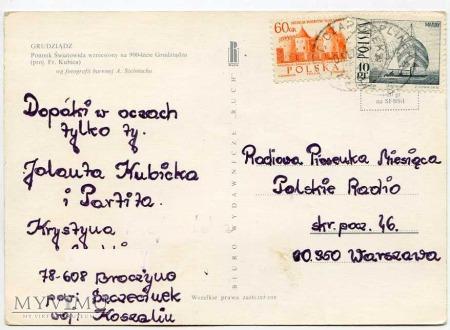 Grudziądz - 1973 - Kopiec na Wzgórzu Zamkowym