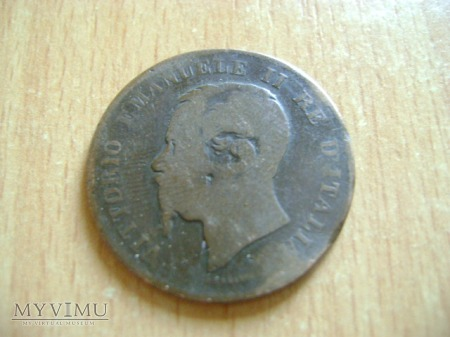5 centesimi 1867