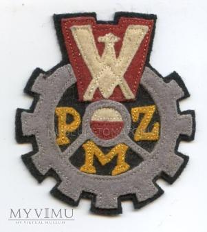 Naszywka - PZM - ok. 1960