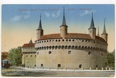 Kraków - Barbakan - 1915