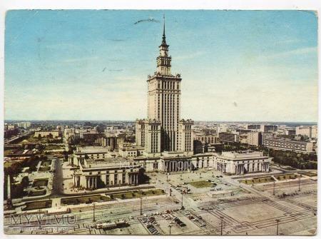 W-wa - Pałac Kultury i Nauki - 1970