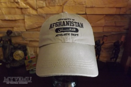 Czapki bejsbolówki z Afganistanu