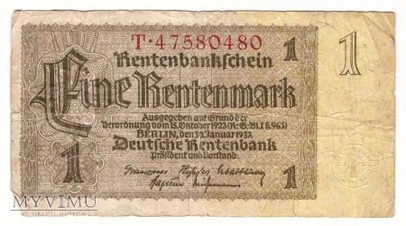 Niemcy, 1 marka 1937r.