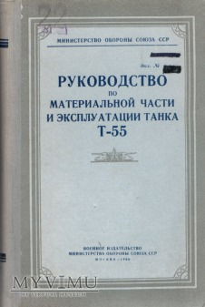 Czołg T-55. Instrukcja z 1960 r.