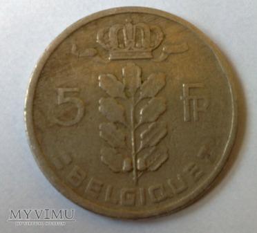 5 Franków 1949 Belgia