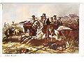 Szarża jazdy poznańskiej pod Rajgrodem 1831.