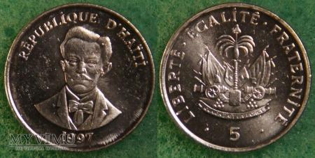 Haiti, 5 centimes 1997