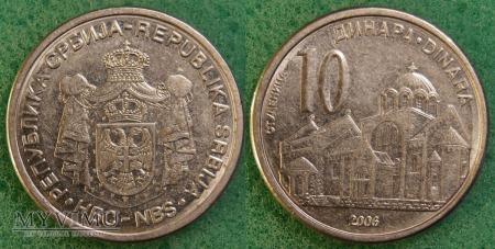 Serbia, 10 dinara 2006