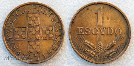 Portugalia, 1 ESCUDO 1971