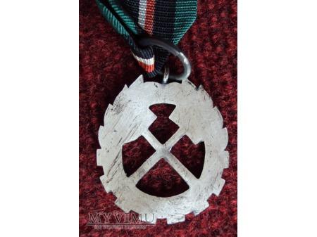 """Odznaka """"Za Zasługi dla Górnictwa PRL"""""""