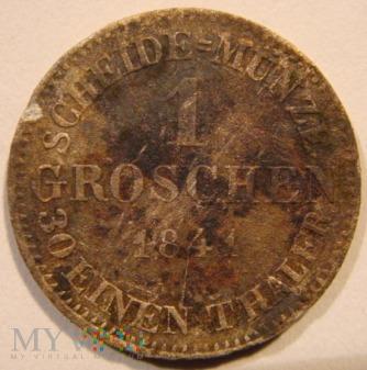 1 GROSCHEN 1841 G, Księstwo Saksonii-Coburg-Gotha