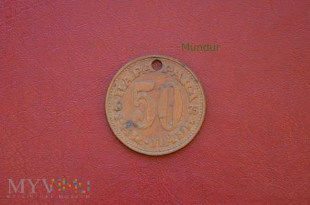 Moneta jugosłowiańska: 50 para