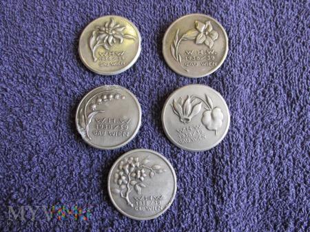 Odznaki Alpejskie Kwiaty III Rzesza WHW