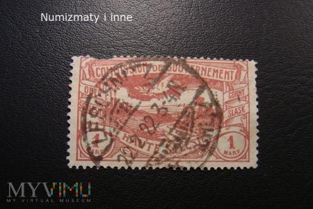 śląskie znaczki plebiscytowe za 1 markę