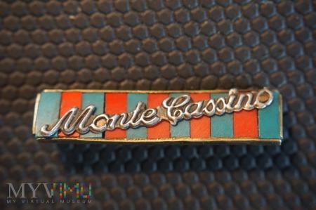 Baretka Krzyża Monte Cassino - metalowa