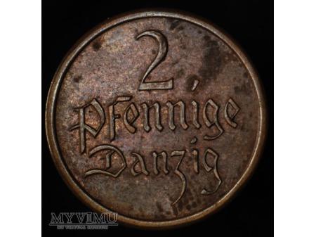 2 fenigi 1937 FALS