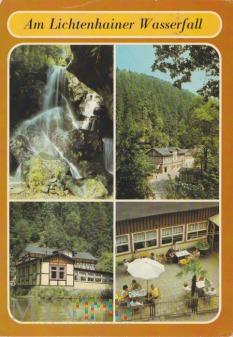 Am Lichtenhainer Wasserfall