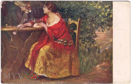 Duże zdjęcie Nagy - On i Ona pod jablonią - 1916