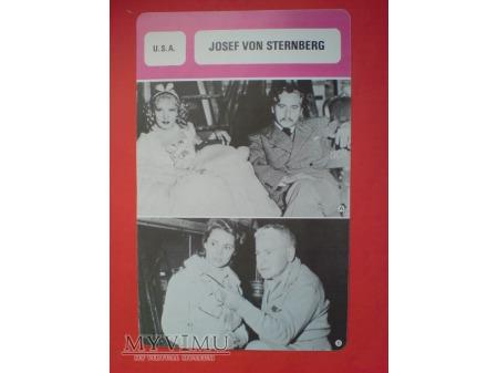 Duże zdjęcie Marlene Dietrich Josef von Sternberg reżyser