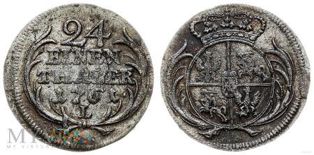 Grosz srebrny (1/24 talara) August III Sas