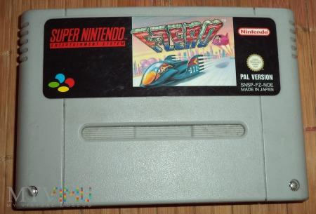 F-Zero - kartridż SNES Nintendo