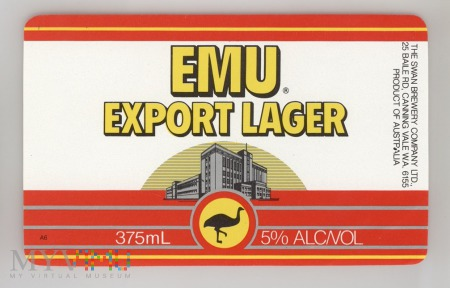 The Swan, Emu Export Lager