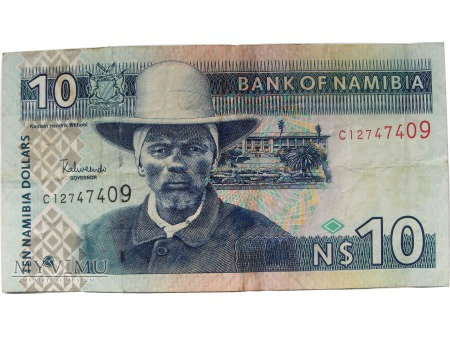 Duże zdjęcie 10 Dolarów, Namibia, od 1993 roku.