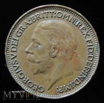 1 Farthing 1928 Jerzy V