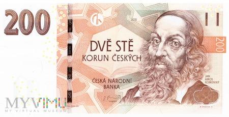 Czechy - 200 koron (2018)