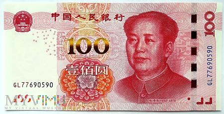 100 元 2015