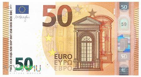 Unia Europejska - 50 euro (2017)