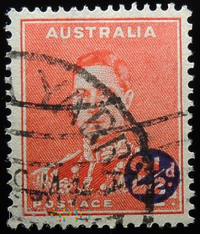 Australia 2d-2 1/2d Jerzy VI