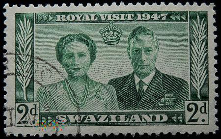 Swaziland 2d Elżbieta II i Jerzy VI