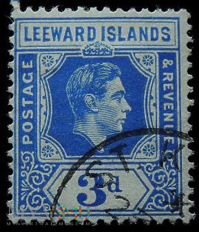 Wyspy Podwietrzne 3d Jerzy VI Leeward Islands
