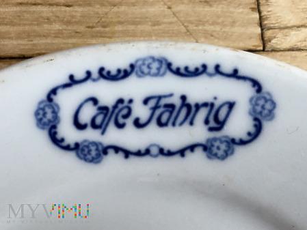 Talerzyk Cafe Fahrig Breslau