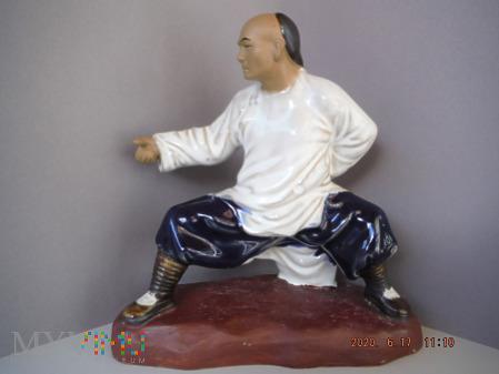 wojownik kung fu (biały)