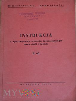 R60-1952 Procesy tech. pracy stacji i bocznic