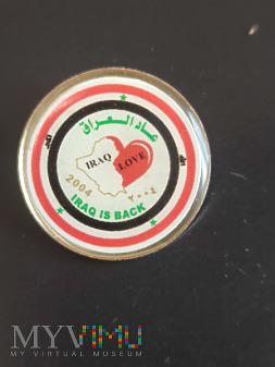 Kocham Irak - Pamiątkowa Odznaka misji 2004
