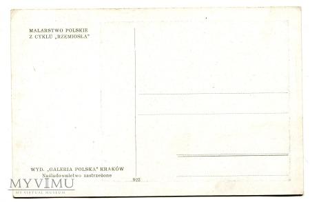 Zofia Stryjeńska Tkactwo Rzemiosła pocztówka