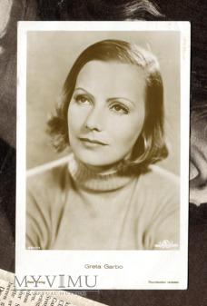 Greta Garbo Verlag Ross 4910/4 Vintage Postcard