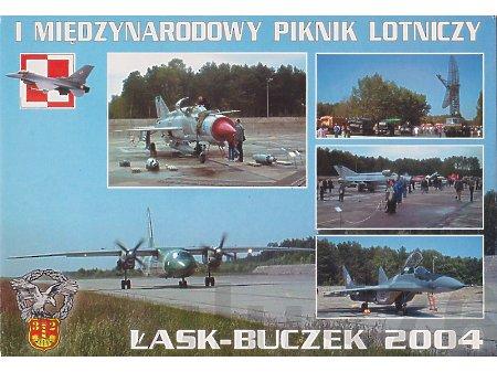 I Międzynarodowy Piknik Lotniczy Łask-Buczek 2004