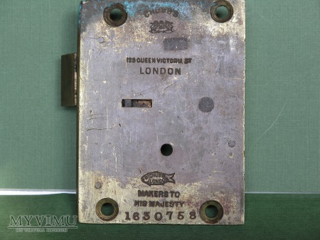 GPO (British Post Office) Mail Box Lock-Smallest
