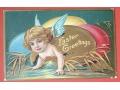 Wielkanoc Pisanka i aniołek świąteczny WINSCH