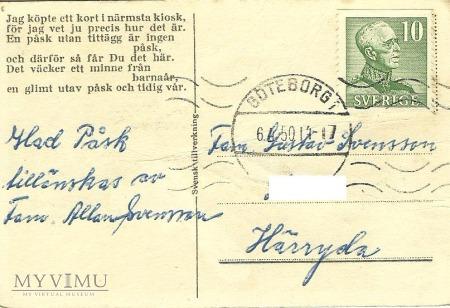 Glad Pask - Szwecja -1950 r.