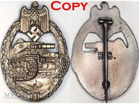 Pancerna Odznaka Szturmowa, Panzerkampfabzeichen