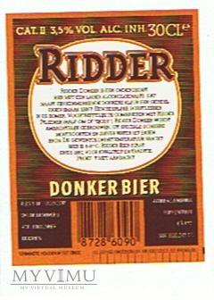 Duże zdjęcie kontra i krawatka-ridder donker bier