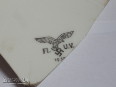 Część talerza Luftwaffe