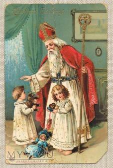 1919 ? Wesołych Świąt Mikołaj i dzieci