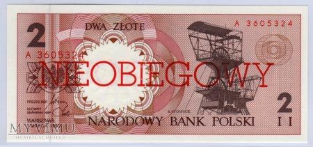 MC 180c - 2 Złote - 1990 - NIEOBIEGOWY